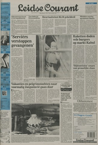 Leidse Courant 1992-08-13