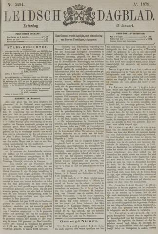Leidsch Dagblad 1878-01-12