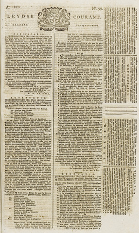 Leydse Courant 1822-08-19