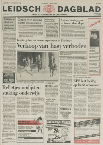 Leidsch Dagblad 1982-11-17