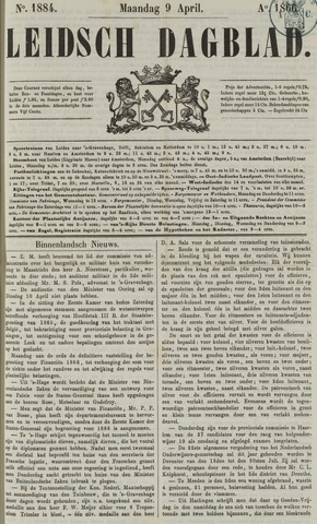 Leidsch Dagblad 1866-04-09