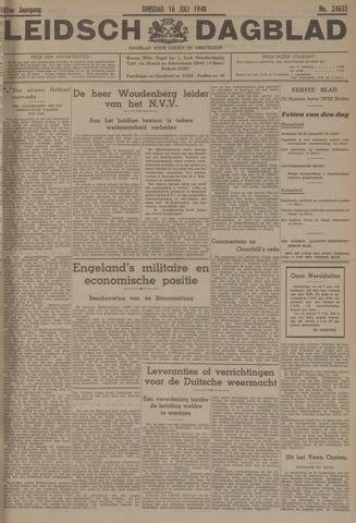 Leidsch Dagblad 1940-07-16