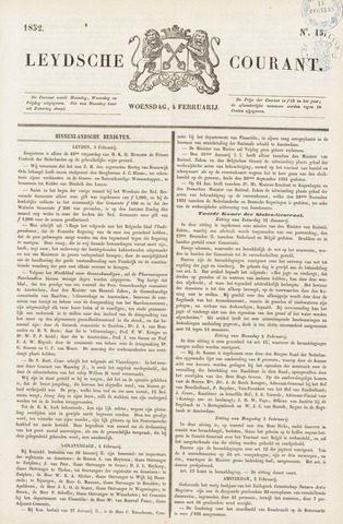 Leydse Courant 1852-02-04