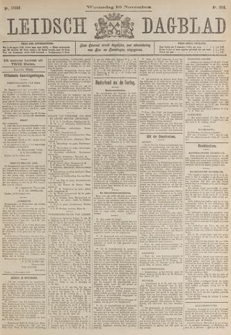 Leidsch Dagblad 1915-11-10