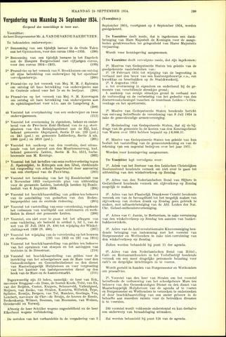 Handelingen van de Raad 1934-09-24