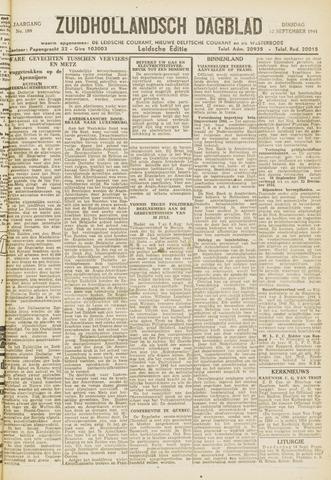 Zuidhollandsch Dagblad 1944-09-12