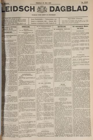 Leidsch Dagblad 1932-07-29
