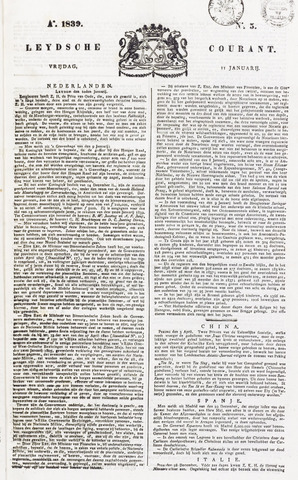 Leydse Courant 1839-01-11