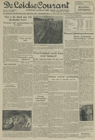 Leidse Courant 1949-09-22