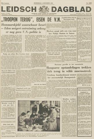 Leidsch Dagblad 1956-11-08