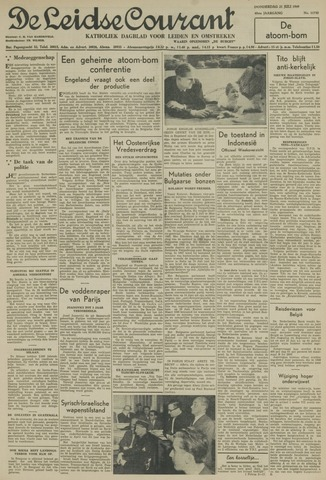 Leidse Courant 1949-07-21