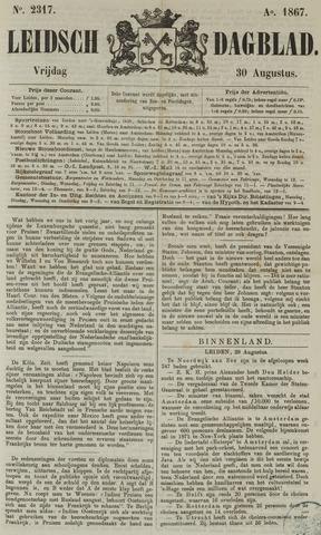 Leidsch Dagblad 1867-08-30
