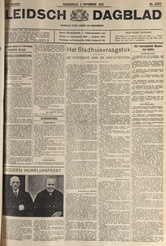 Leidsch Dagblad 1932-11-03