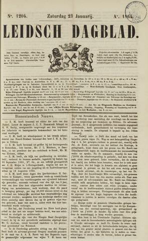 Leidsch Dagblad 1864-01-23