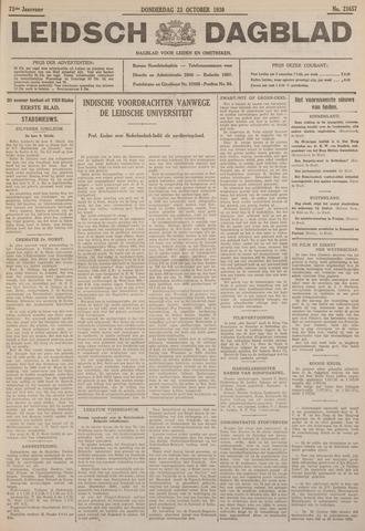 Leidsch Dagblad 1930-10-23