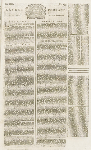 Leydse Courant 1822-11-20