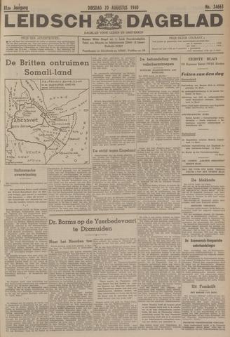 Leidsch Dagblad 1940-08-20