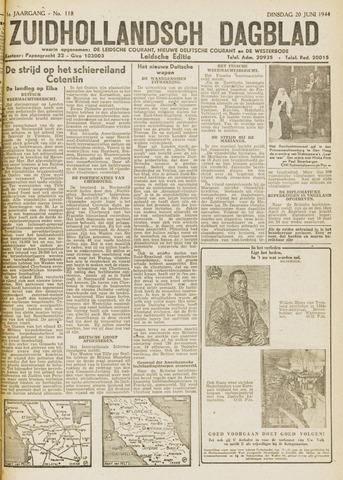 Zuidhollandsch Dagblad 1944-06-20