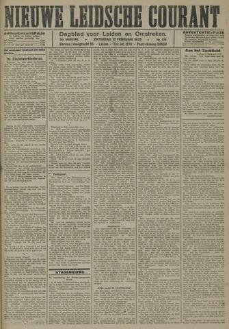 Nieuwe Leidsche Courant 1923-02-17
