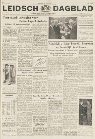 Leidsch Dagblad 1954-06-25