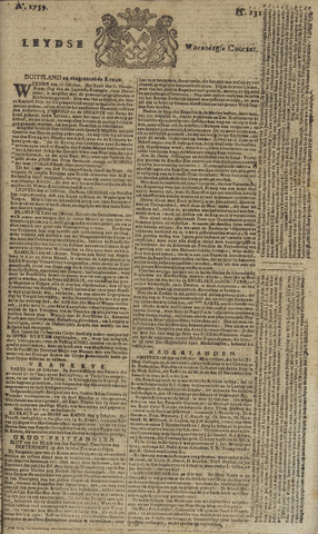 Leydse Courant 1759-10-31