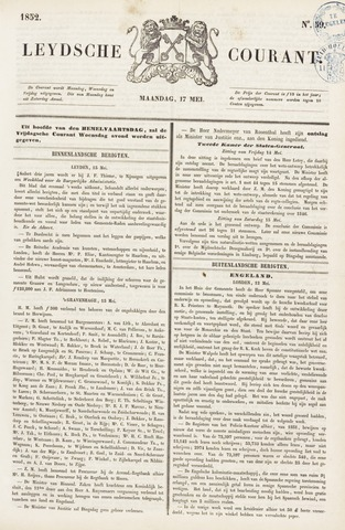 Leydse Courant 1852-05-17