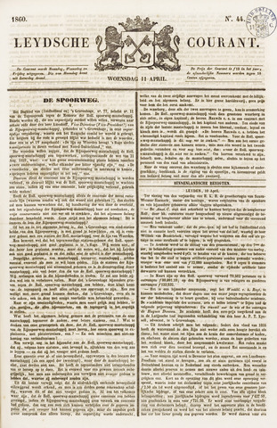 Leydse Courant 1860-04-11