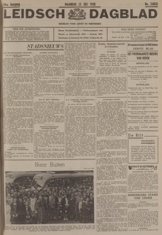 Leidsch Dagblad 1938-07-25