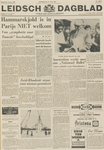 Leidsch Dagblad 1961-07-27