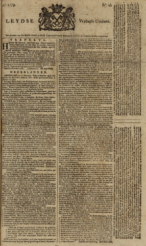 Leydse Courant 1779-02-19