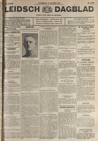 Leidsch Dagblad 1933-10-26