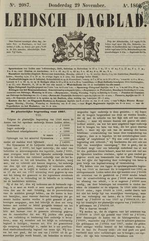 Leidsch Dagblad 1866-11-29