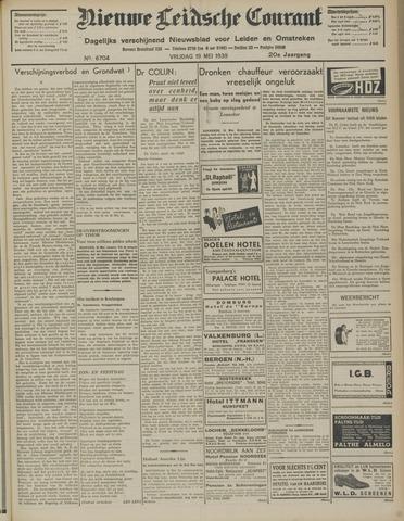 Nieuwe Leidsche Courant 1939-05-19