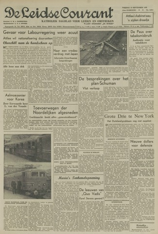 Leidse Courant 1950-09-15