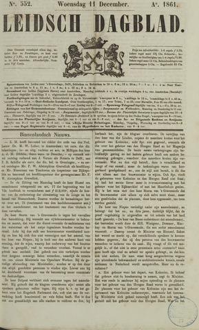 Leidsch Dagblad 1861-12-11