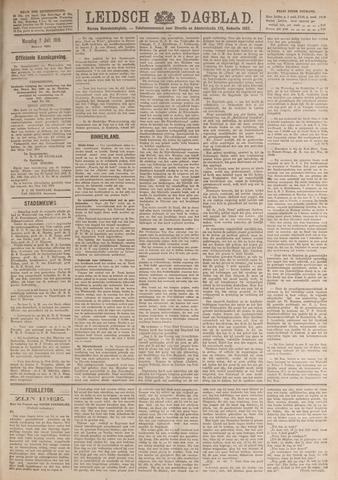 Leidsch Dagblad 1919-07-07