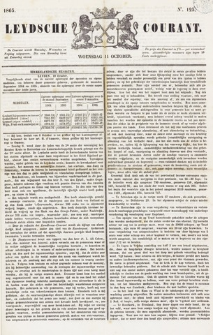 Leydse Courant 1865-10-11