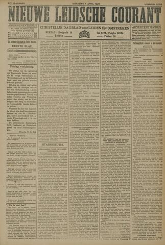 Nieuwe Leidsche Courant 1927-04-04