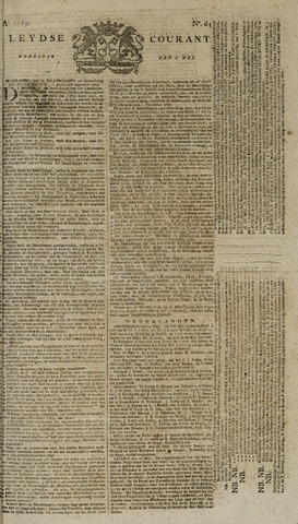Leydse Courant 1789-05-27