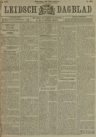 Leidsch Dagblad 1904-11-22