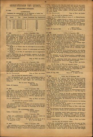 Handelingen van de Raad 1894-08-19