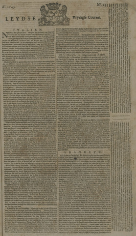 Leydse Courant 1743-12-27