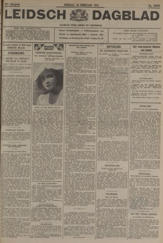 Leidsch Dagblad 1935-02-19