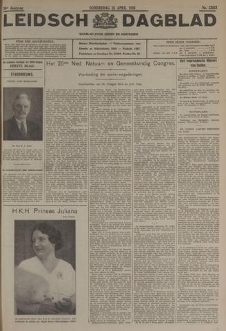 Leidsch Dagblad 1935-04-25