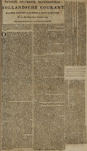 Leydse Courant 1795-11-06