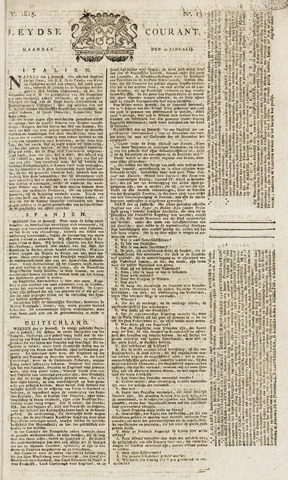 Leydse Courant 1815-01-30