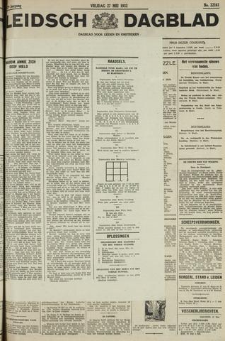Leidsch Dagblad 1932-05-27