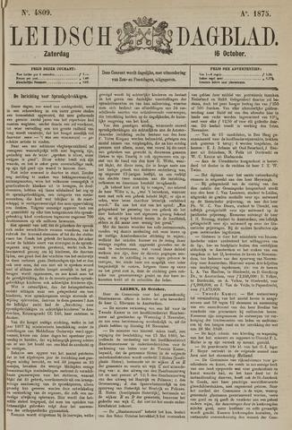Leidsch Dagblad 1875-10-16