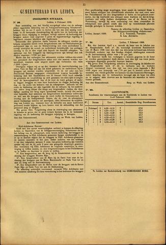 Handelingen van de Raad 1889-02-04