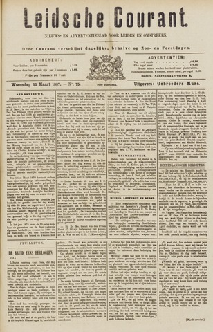 Leydse Courant 1887-03-30